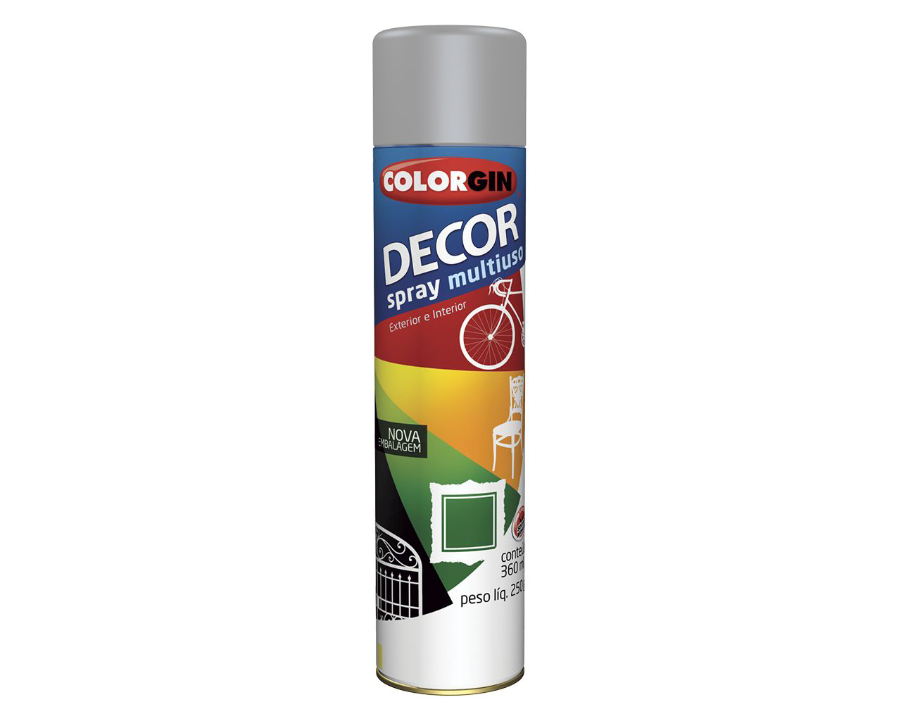 TINTA SPRAY DECOR CINZA