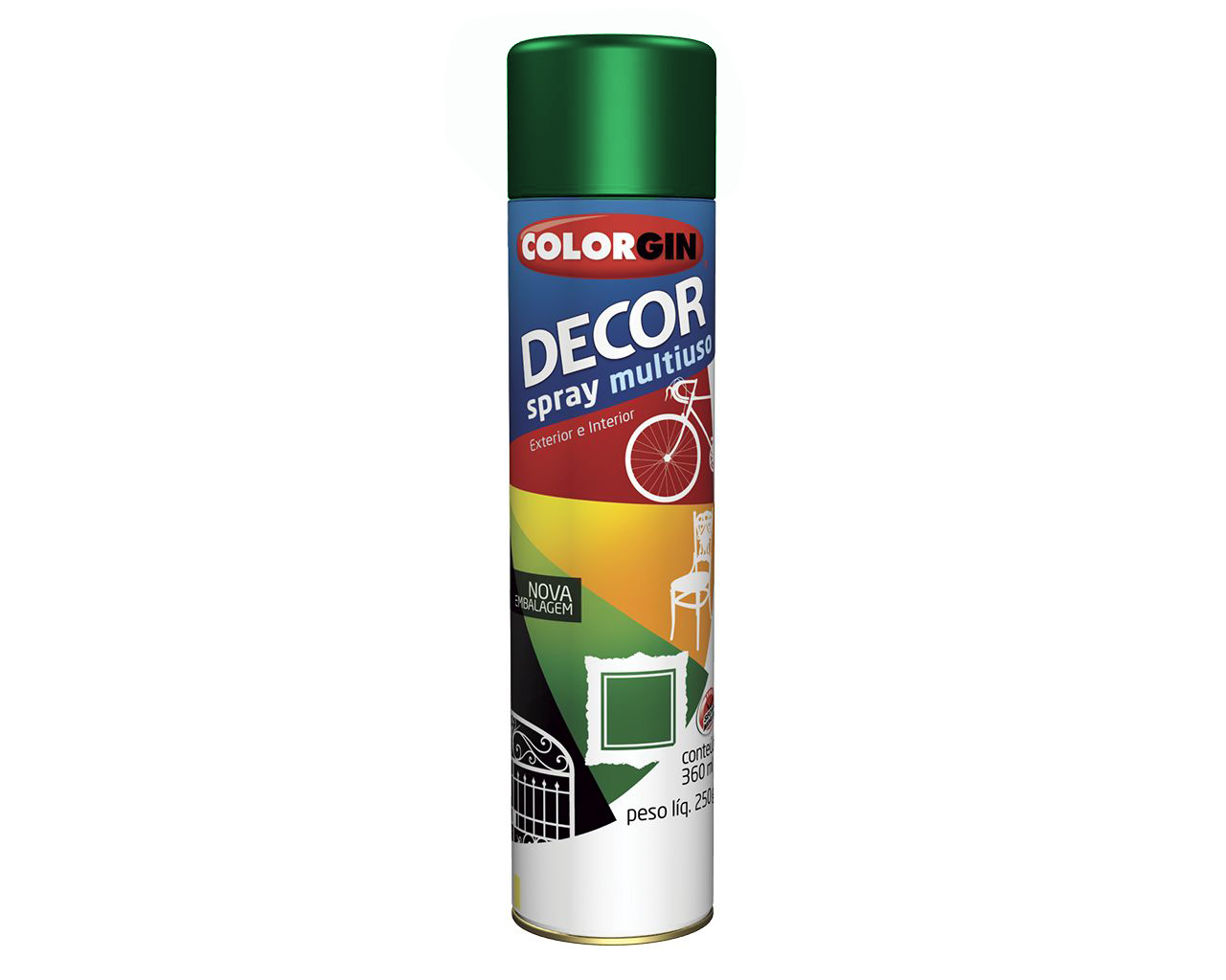 TINTA SPRAY DECOR VERDE